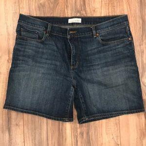 Loft Denim Shorts 12